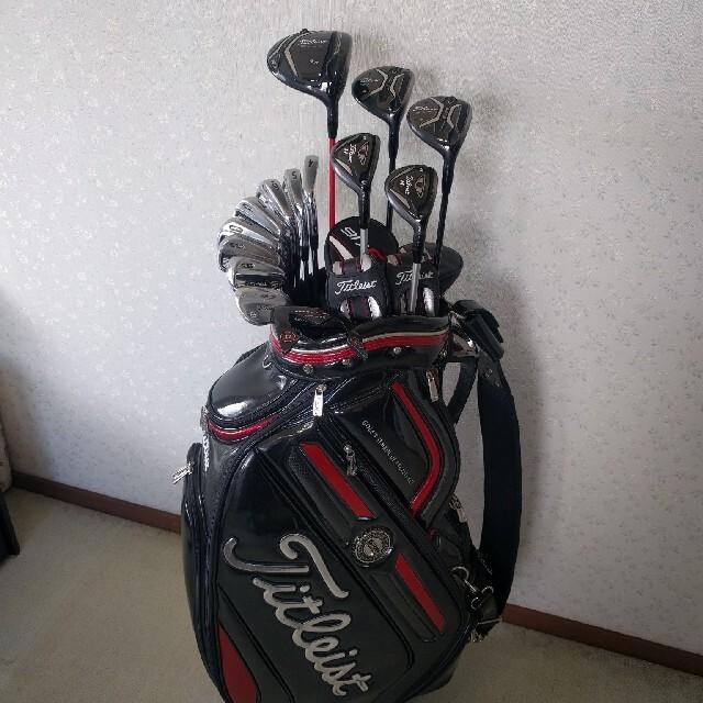 Titleist(タイトリスト)のタイトリスト Titlelst フルセット☆ スポーツ/アウトドアのゴルフ(クラブ)の商品写真
