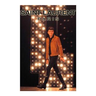 サンローラン(Saint Laurent)のsaint laurent paris トラッパージャケット(レザージャケット)