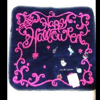 ジルスチュアート(JILLSTUART)のハロウィン ジルスチュアート タオル ハンカチ 新品 おばけ かぼちゃ(タオル/バス用品)