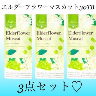 セイカツノキ(生活の木)のエルダーフラワーマスカット30TB×3点セット 生活の木おいしいハーブティー(茶)