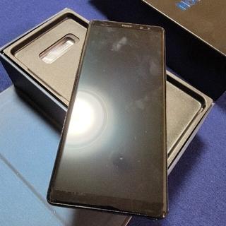 ギャラクシー(galaxxxy)のGalaxy Note 8 Black 64 GB docomo(スマートフォン本体)
