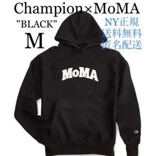モマ(MOMA)の[NY正規] Champion MoMA チャンピオン モマ パーカー Mサイズ(パーカー)