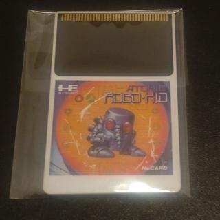 エヌイーシー(NEC)のPCエンジン Huカード アトミックロボキッド(家庭用ゲームソフト)