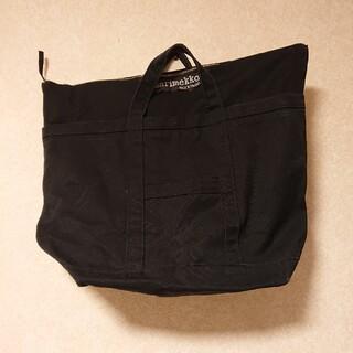 マリメッコ(marimekko)のマリメッコ トートバッグ  ◎ブラック(トートバッグ)