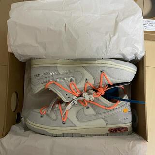 NIKE - Nike Dunk low × Off-White lot19 26cm