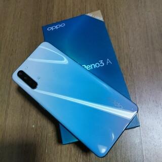 オッポ(OPPO)のOPPO RENO 3a(スマートフォン本体)