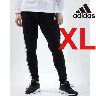 adidas - 【新品未使用!!】アディダス 3ストライプ ジョガーパンツ ブラック XL