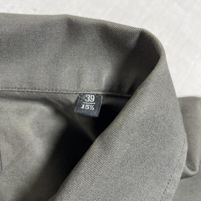 Jil Sander(ジルサンダー)の【希少カラー】ジルサンダー 長袖シャツ イタリア製 コットン グリーン メンズのトップス(シャツ)の商品写真
