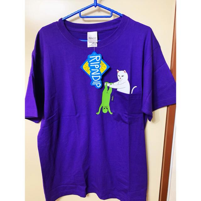 RipnDip リップンディップ tシャツ  紫 メンズのトップス(Tシャツ/カットソー(半袖/袖なし))の商品写真
