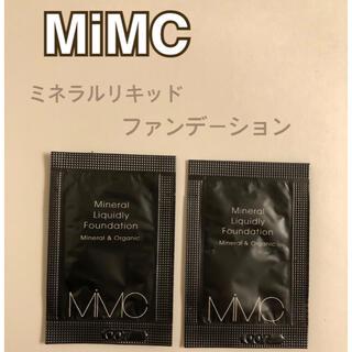 MiMC - MiMC エムアイエムシー ミネラルリキッドリーファンデーション サンプル