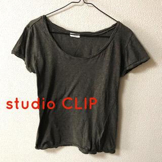 スタディオクリップ(STUDIO CLIP)のトップス 半袖Tシャツ カットソー スタディオクリップ(カットソー(半袖/袖なし))