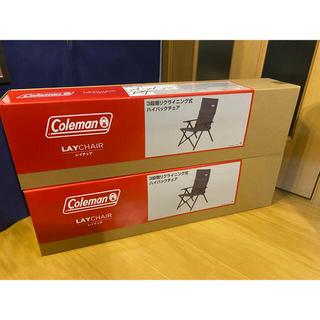 Coleman - コールマン レイチェア グレー 2脚セット