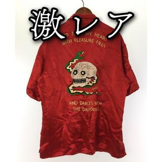 Gucci - ✨激レア✨GUCCI スカル ドクロ スネーク 蛇 半袖 シャツ 52