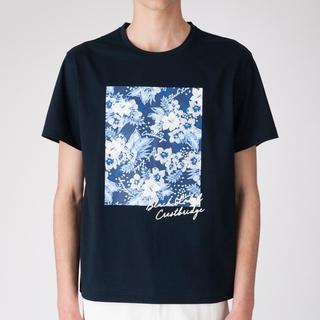 ブラックレーベルクレストブリッジ(BLACK LABEL CRESTBRIDGE)の新品バーバリーブラックレーベルクレストブリッジアロハボックスプリント半袖Tシャツ(Tシャツ/カットソー(半袖/袖なし))