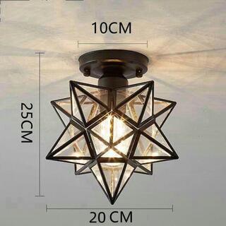 ペンダントライト レトロ 星形 星型 キッチン 北欧 天井照明3