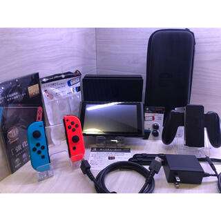 Nintendo Switch - 豪華おまけ付き!内容品完備ですぐに遊べる!Nintendo Switch本体一式