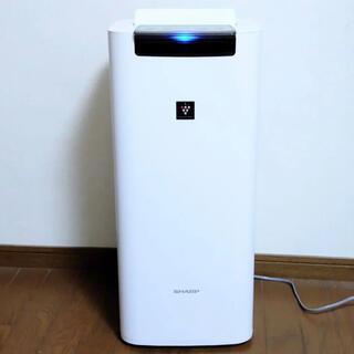 SHARP - SHARP プラズマクラスター25000搭載 加湿空気清浄機 KI-JS40-W