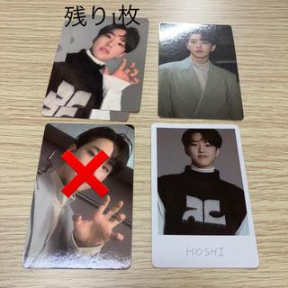 incomplete トレカ ホシ SEVENTEEN
