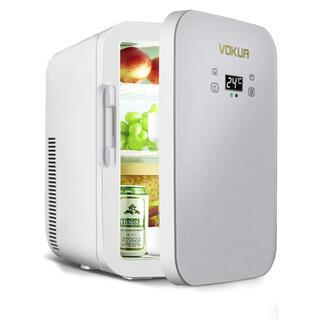 VOKUA 冷温庫 10L ポータブル ミニ冷蔵庫