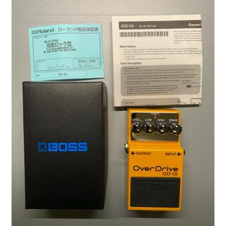 ボス(BOSS)の【美品】OD-1X OverDrive BOSS OD1X エフェクター(エフェクター)