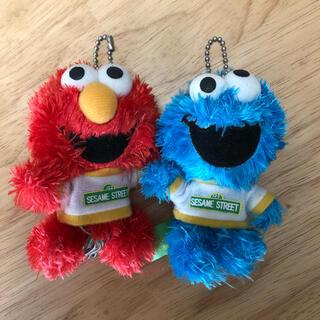 セサミストリート(SESAME STREET)のクッキーモンスター&エルモ キーホルダーセット(キャラクターグッズ)