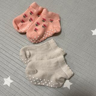 ユニクロ(UNIQLO)のユニクロ ベビー靴下 9〜12cm【新品】(靴下/タイツ)