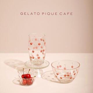 gelato pique - gelato pique ジェラートピケ チェリーグラス&ボウル 2点セット