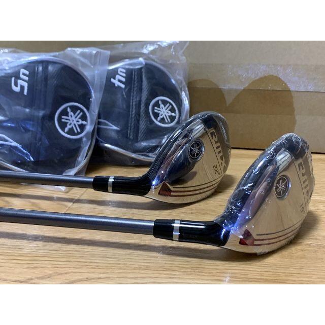 ヤマハ(ヤマハ)の新品 YAMAHA RMX ユーティリティ #4/#5 2本セット カーボン S スポーツ/アウトドアのゴルフ(クラブ)の商品写真