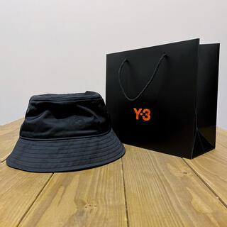 Y-3 - ★新品美品★【Y-3】バケットハット 黒 2021SS【ショップ袋付き】