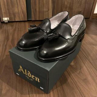 オールデン(Alden)の新品 ALDEN オールデン コードバン タッセルローファー 6.5D(スリッポン/モカシン)