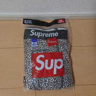 Supreme - Supreme Hanes ボクサーパンツS レオパード柄