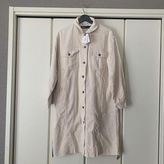 ZARA - コーデュロイシャツジャケット