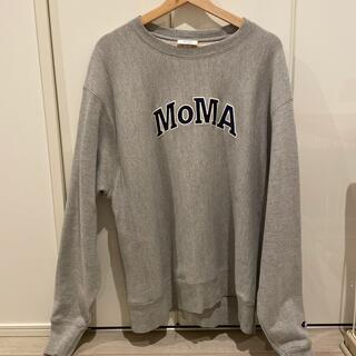 モマ(MOMA)のmoma champion スウェット(スウェット)
