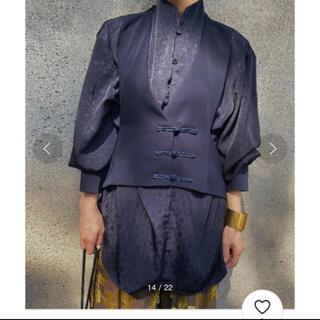 アメリヴィンテージ(Ameri VINTAGE)のAMERI 新品タグ付き カンフーシャツ(シャツ/ブラウス(長袖/七分))