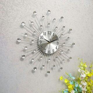 壁掛け時計 ウォールクロック フランフラン キラキラ ザラホーム北欧 3