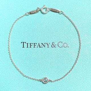 Tiffany & Co. - ティファニー カラーバイザヤード アクアマリン ブレスレット