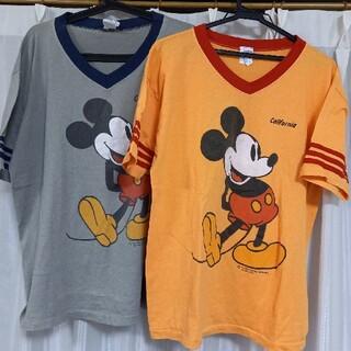 Disney - ミッキーTシャツ2枚セット