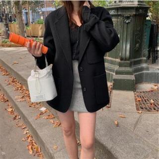 ディーホリック(dholic)の【未使用】厚手 テーラードジャケット レディースアウター 韓国ファッション(テーラードジャケット)