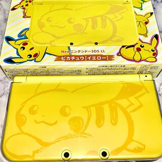 ニンテンドー3DS - Nintendo 3DS NEWニンテンドー3DSLL ポケモン ピカチュウ イ