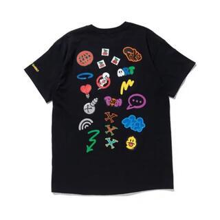XLARGE - 【希少デザイン】XLARGE エクストララージ Tシャツ ブラック Lサイズ