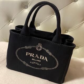 PRADA - プラダ トートバッグ カナパS ブラック