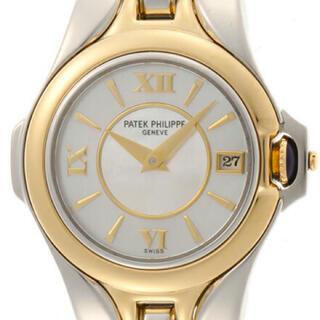 パテックフィリップ(PATEK PHILIPPE)の【純正】 パテック フィリップ  ハイブランド クォーツ 腕時計 レディース(腕時計)