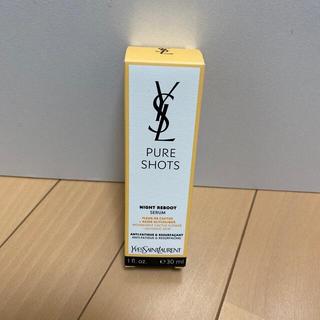 イヴサンローランボーテ(Yves Saint Laurent Beaute)のピュアショット ナイトセラム30ml(美容液)
