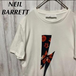 ニールバレット(NEIL BARRETT)のNeil Barrett ニールバレット Tシャツ サンダー ホワイト S(Tシャツ/カットソー(半袖/袖なし))