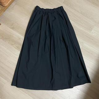 MUJI (無印良品) - 無印良品 ギャザー ロングスカート