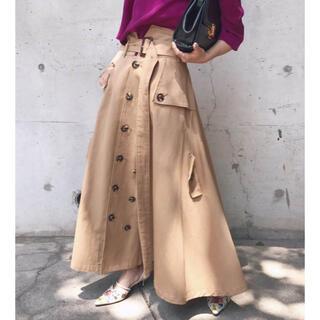 アメリヴィンテージ(Ameri VINTAGE)のアメリ トレンチスカート(ロングスカート)