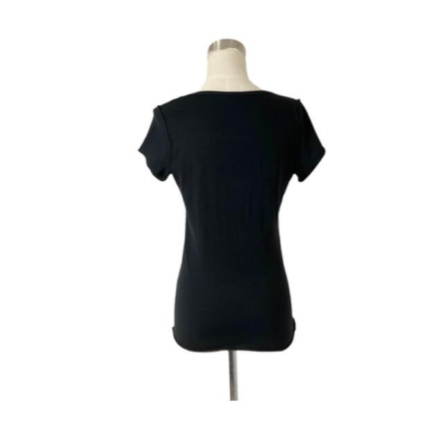 Jil Sander(ジルサンダー)のパリコレ 高級シルクコットンの艶やか質感 上質美形カットソー レディースのトップス(Tシャツ(半袖/袖なし))の商品写真