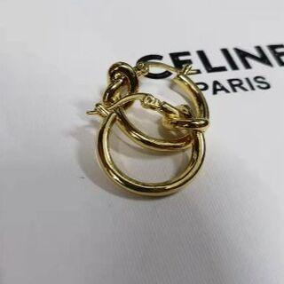 セリーヌ(celine)のCELINE ノットフープピアス(ピアス)