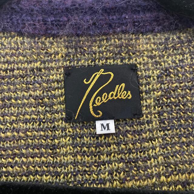 Needles(ニードルス)のカリー様専用 needles モヘアカーディガン メンズのトップス(カーディガン)の商品写真