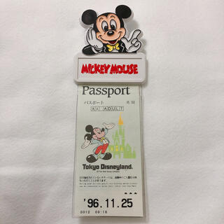 Disney - ミッキー チケットホルダー Disney ディズニー